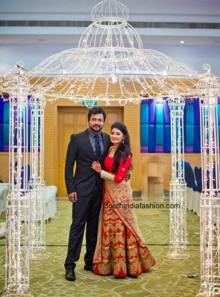 reshmimenon_bobbysimha_wedding_reception