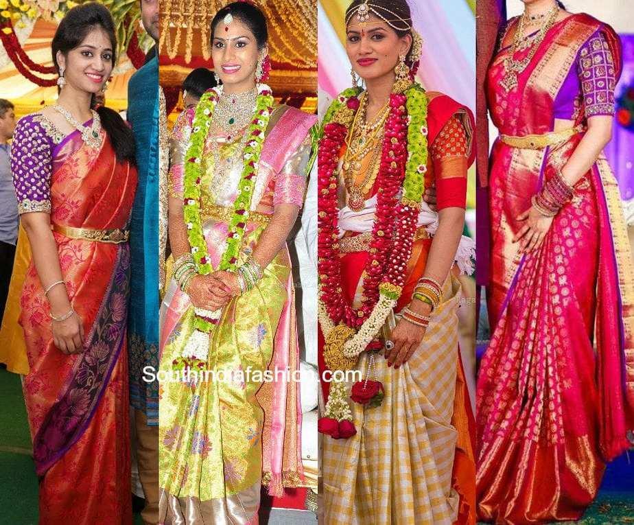 c0f5452431 6 Exquisite Blouse Designs For Kanjeevaram Silk Sarees – South India ...