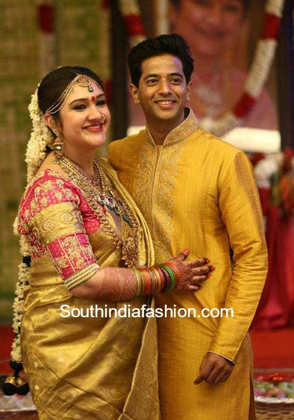 Sridevi Vijayakumar Indian Wedding Pinterest