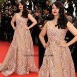 Aishwarya Rai in Elie Saab at Cannes Red Carpet