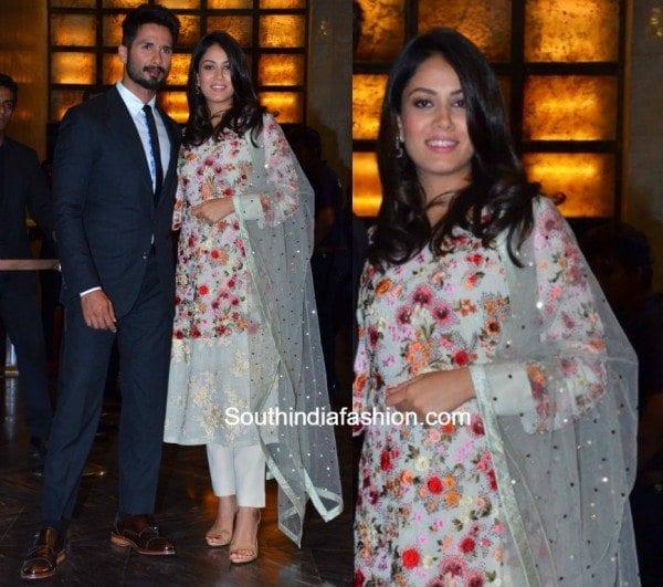 pregnant Mira Kapoor at Preity Zinta's wedding reception
