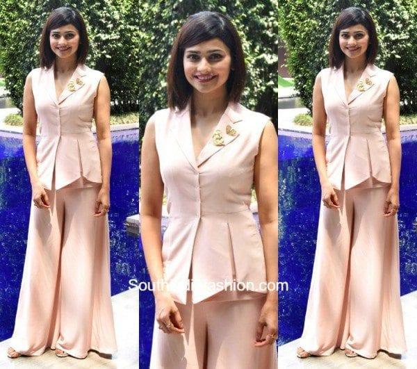 Prachi Desai in Manika Nanda Outfit