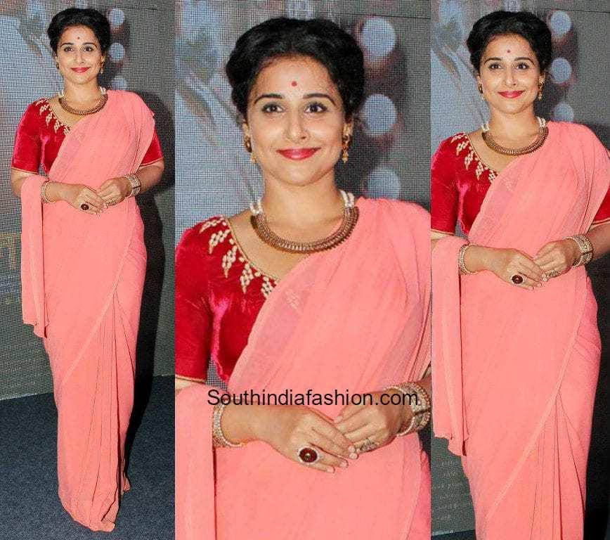 At the song launch of her upcoming movie Ekk Albela , actress Vidya ...