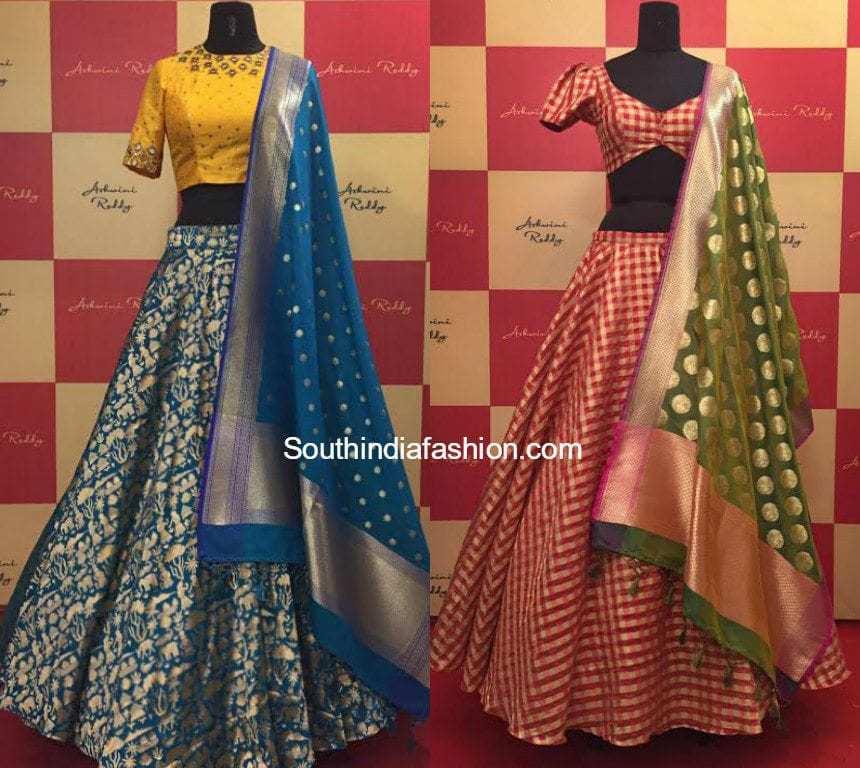Banaras zari lehenga's by Ashwini Reddy • South India Fashion