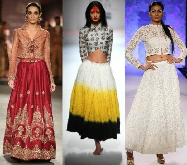 7 High Fashion Western Ways to Wear a Basic Ethnic Skirt
