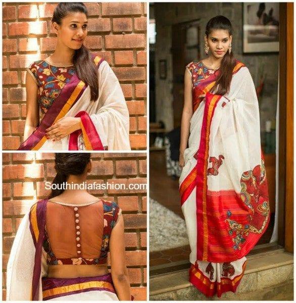 kalamkari_blouse_designs