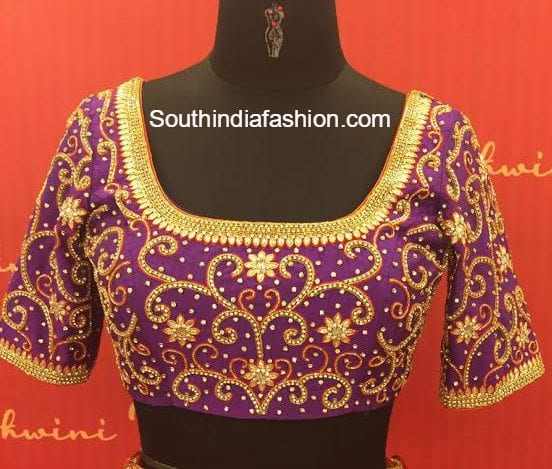 Maggam Work Blouse ~ Fashion Trends ~ • South India Fashion