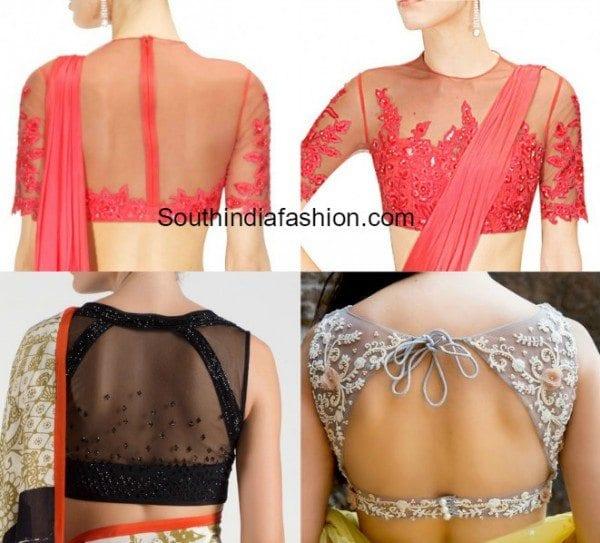 latest_fashionable_net_illusion_blouse_designs