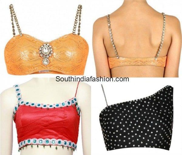 noodle_spaghetti_strap_blouse_designs