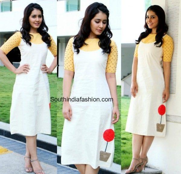 raashi_khanna_white_dress_su[reme_promotions