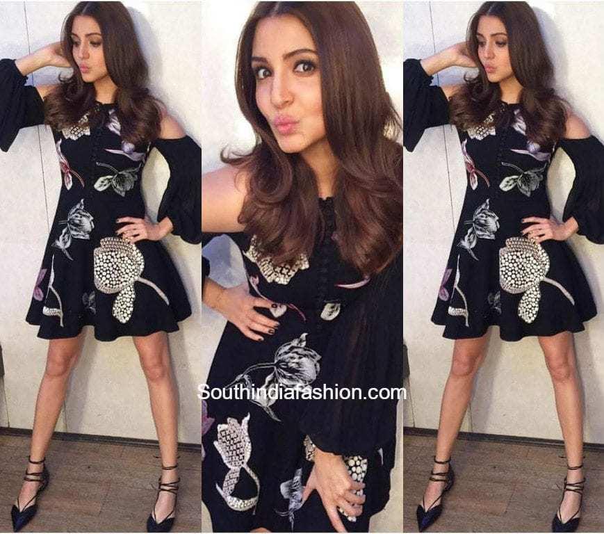 Anushka Sharma in Nachiket Barve – South India Fashion