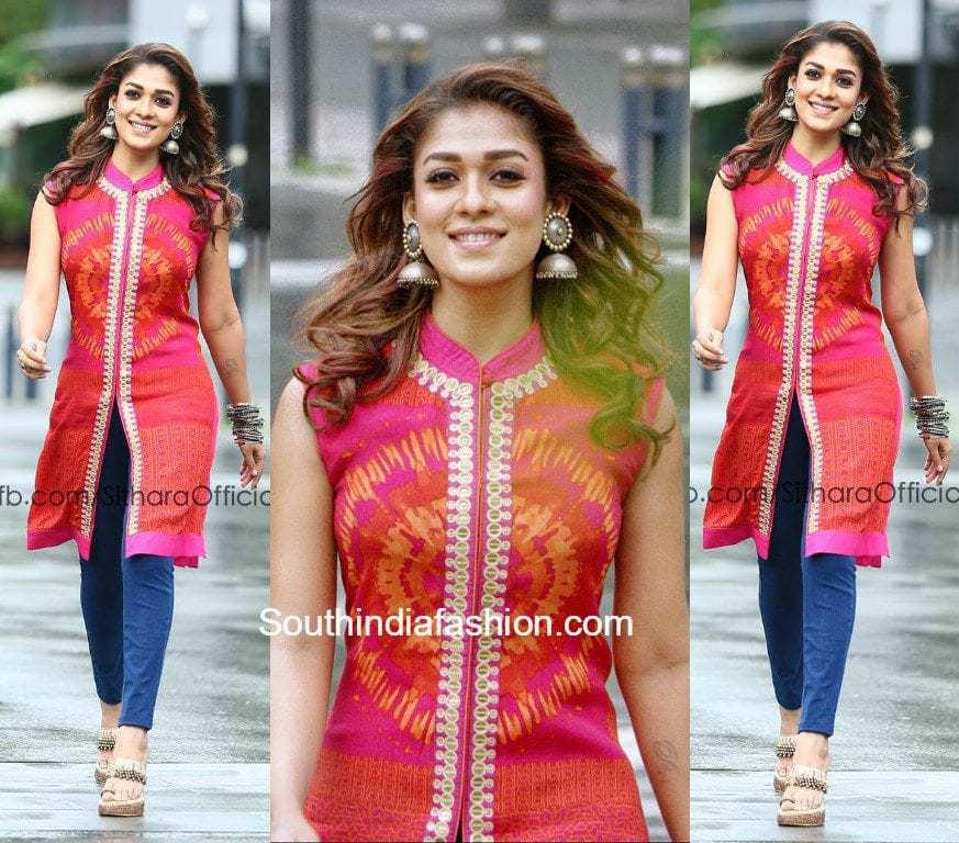 Nayanthara Hairstyle 2018 South India Fashion