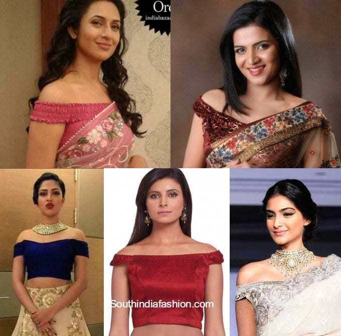 5 Chic, Cool & Summery Saree Blouses