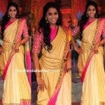 Smitha in Shravan Kummar Saree