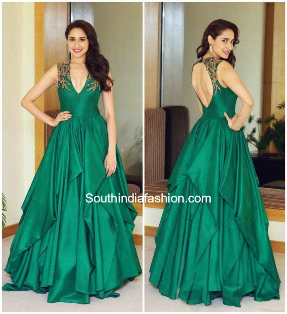 5caf1b84dbe045 Pragya Jaiswal in Shantanu and Nikhil – South India Fashion
