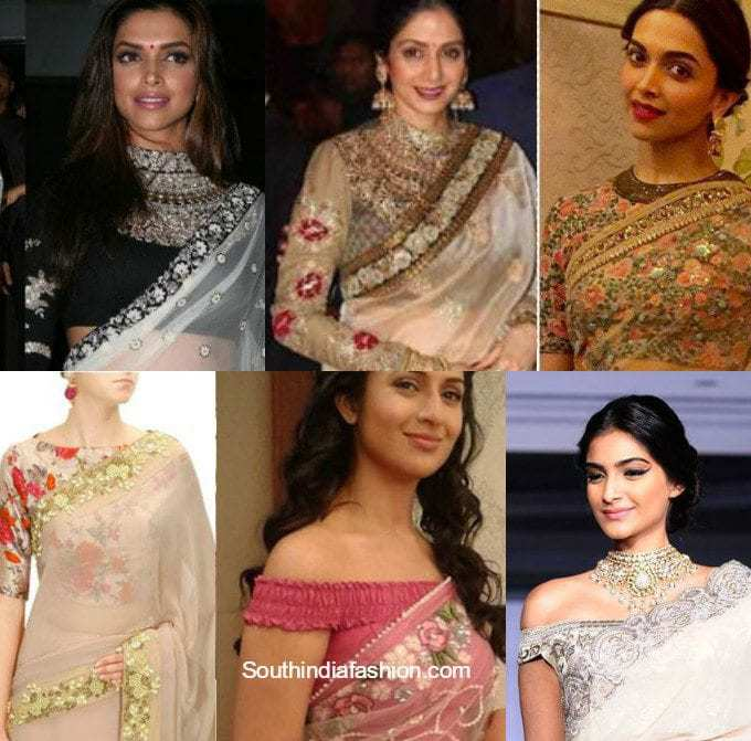 e8a5358a5fc850 5 Modern Celebrity-Inspired Blouse Designs To Try Out – South India ...