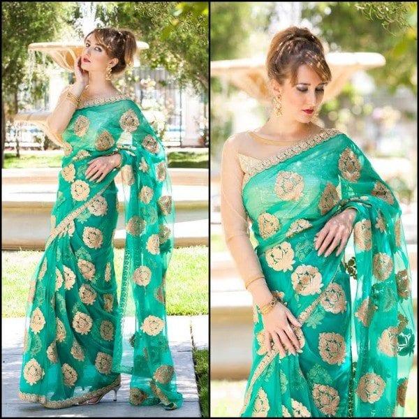 Designer Saree by ViBha