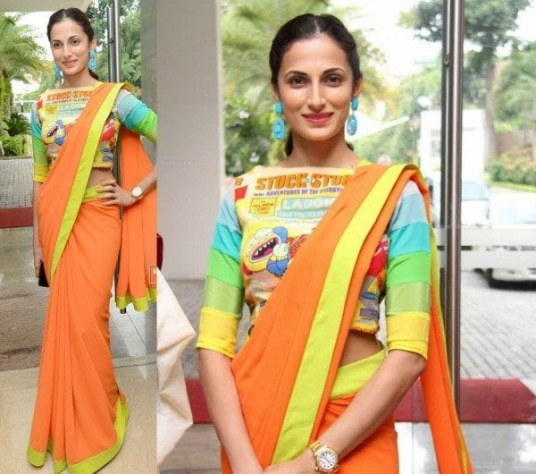 shilpa_reddy_cartoon_blouse