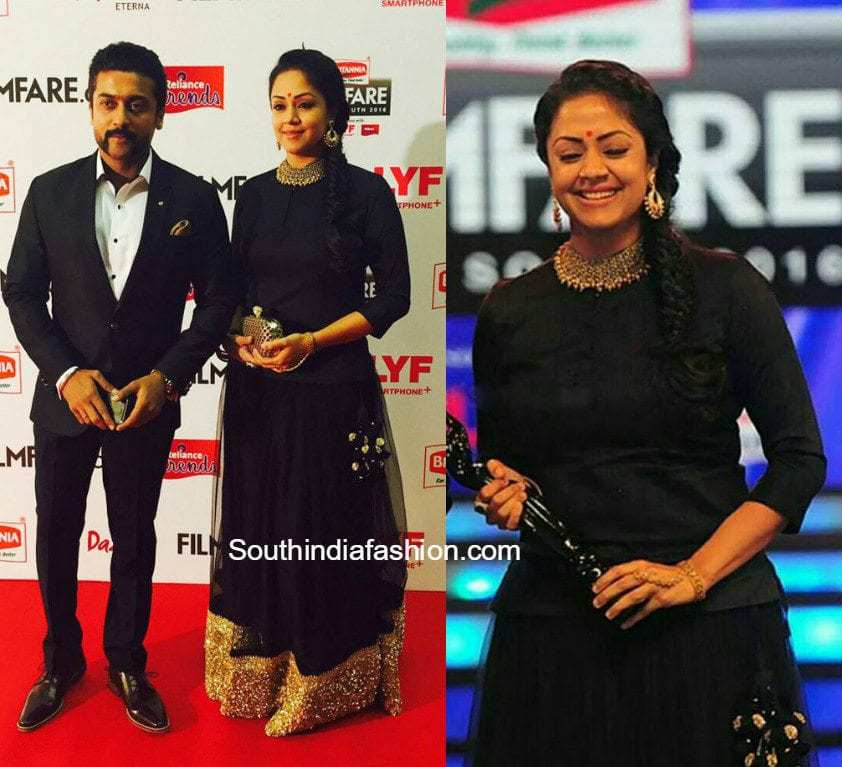 Suriya and Jyothika at Filmfare Awards South – South India