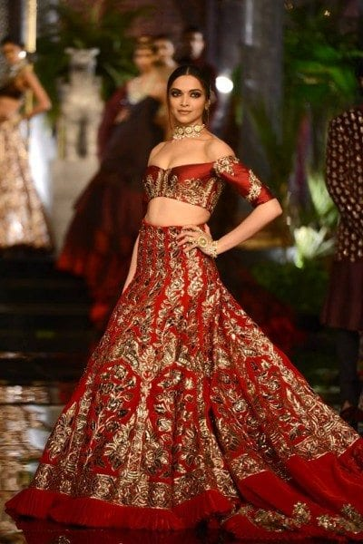 Deepika Padukone For Manish Malhotra, ICW 2016