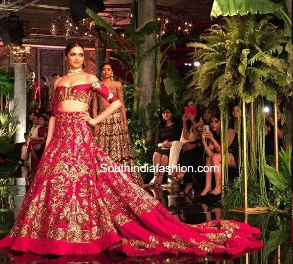 Deepika Padukone in Manish Malhotra 2