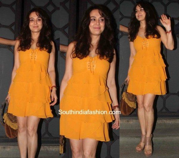 Preity Zintas Casual Look