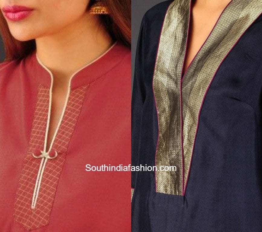 latest salwar kameez neck designs � south india fashion