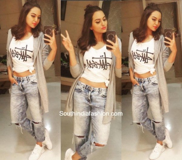 Sonakshi Sinha's Casual Chic Look