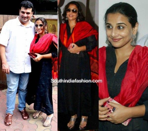 Vidya Balan's Ethnic Wear