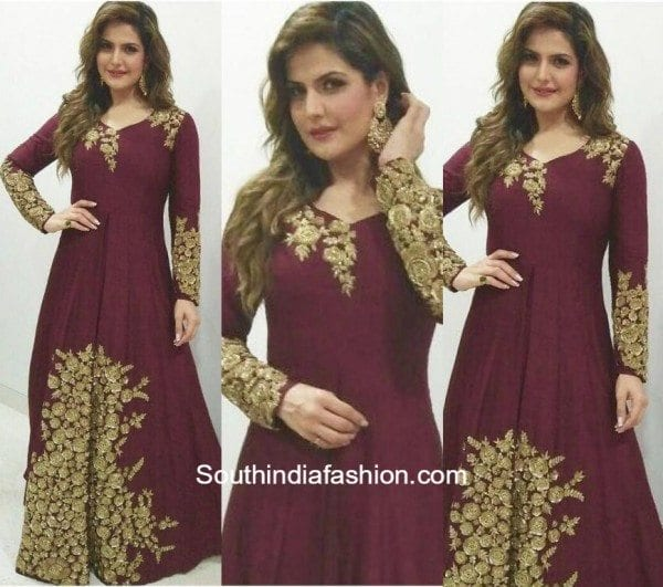 Zarine Khan in Kalki Fashion