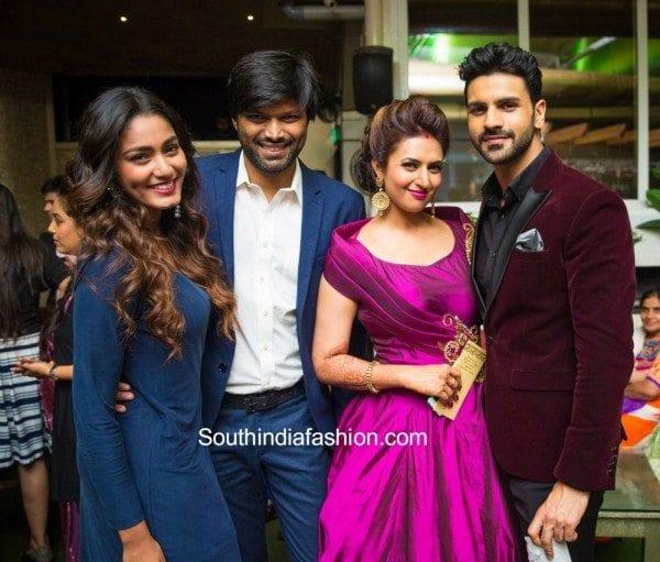 divyanka tripathi marriage reception photos