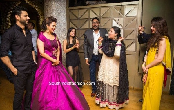 divyanka_wedding_reception_purple_gown