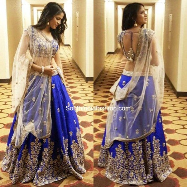 Lavanya Tripathi In Mrunalini Rao South India Fashion