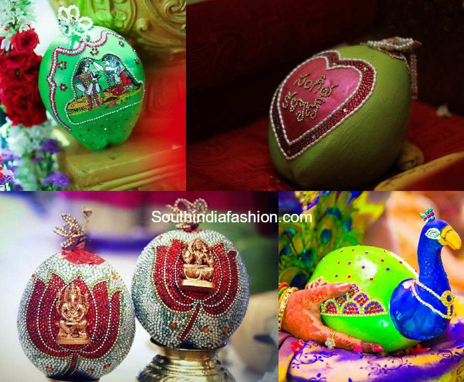 Coconut Decoration For Weddings South India Fashion
