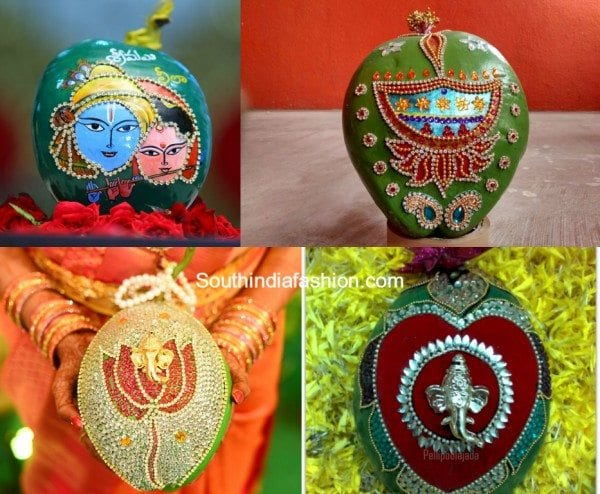 Coconut Decorations for indian marriage