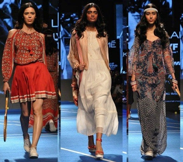 Ritu Kumar at Lakme Fashion Week Winter Festive 2016