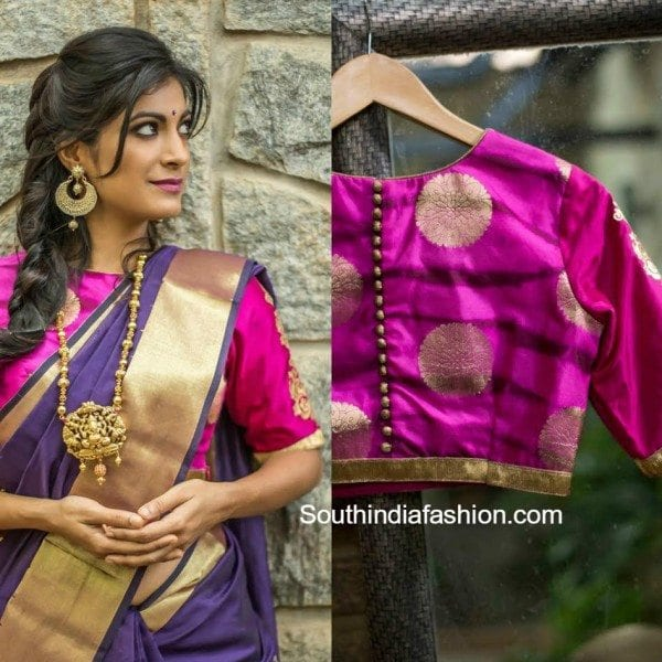Contemporary Festive Blouses and Sarees by House Of Blouse