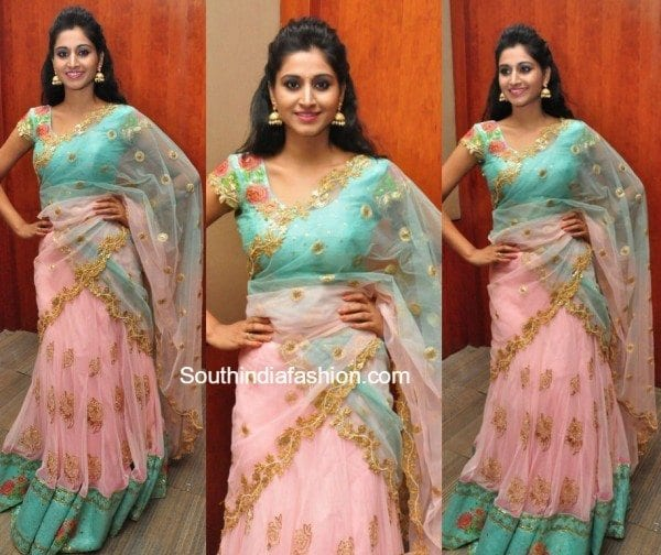 shamili in sonyreddy lehnega 600x504