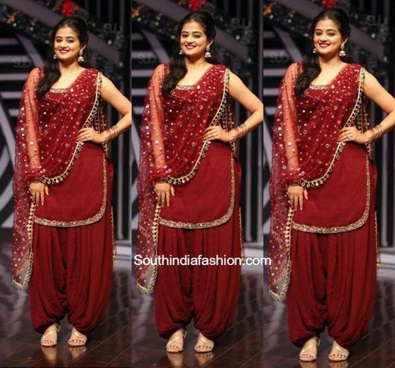 Beautiful Patiala Salwar Kameez Designs South India Fashion