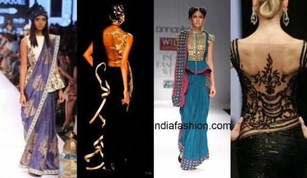 peplum_sheer_back_blouse_design