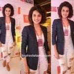 Taapsee Pannu in Armani Exchange