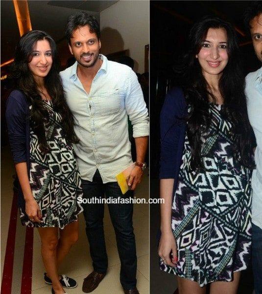actor_adarsh_balakrishna_wife_nirmala_convent_premiere