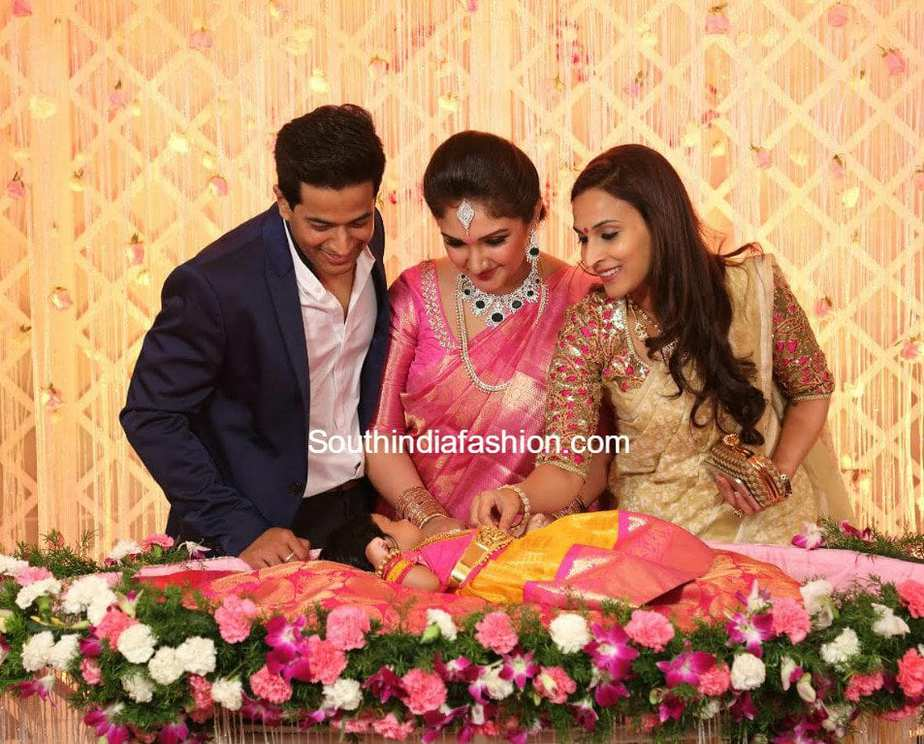Sridevi Vijaykumar Daughter Naming And Cradle Ceremony