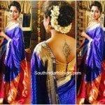 Amala Paul in a Traditional Saree
