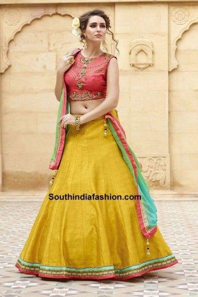 13 amazing navratri dandiya lehenga choli designs � south