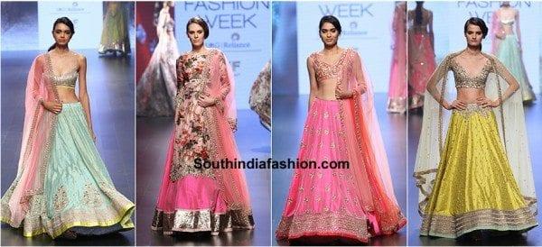 Anushree Reddy Bridal Lehenga Designs
