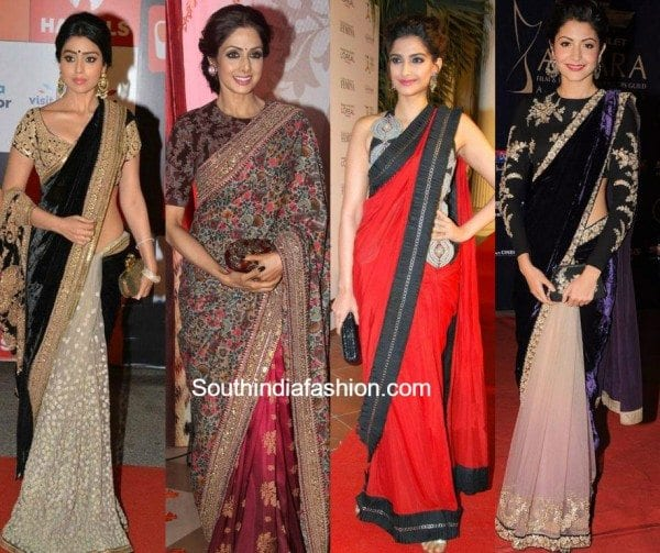 handbags_with_sarees_box_clutches