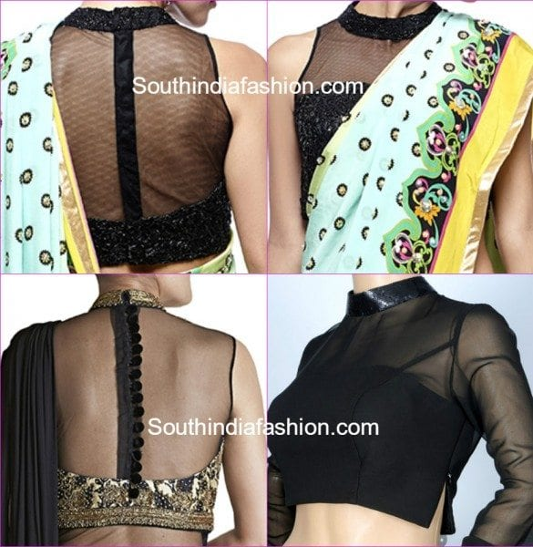 high_neck_blouse_patterns_with_net