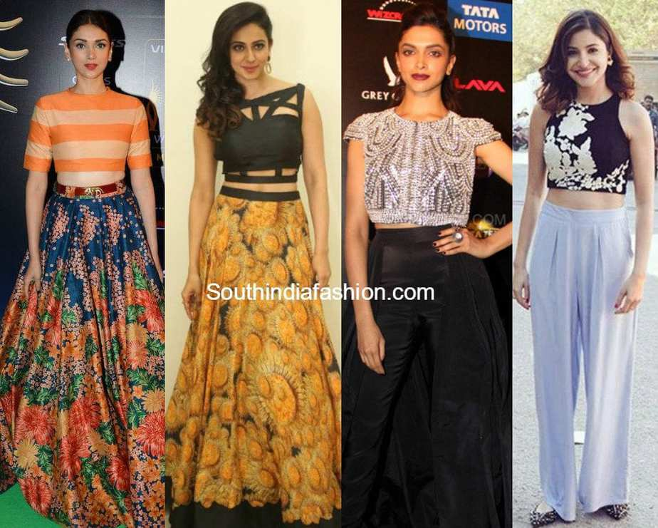 be1a0d54cd Style Tips On How To Wear Crop Tops – South India Fashion
