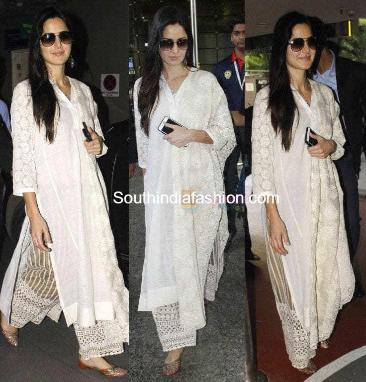 katrina kaif in a palazzo suit � south india fashion